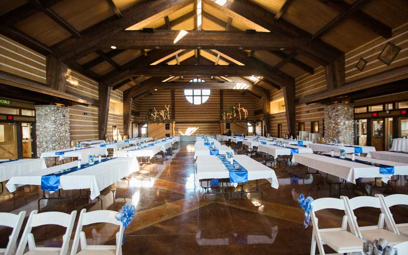 Evansville Wedding Discovery Lodge